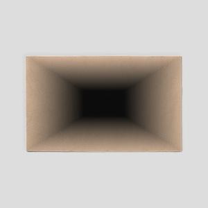 Hole 3'x5' Area Rug