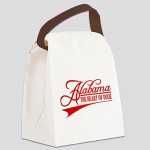 Alabama State of Mine Canvas Lunch Bag