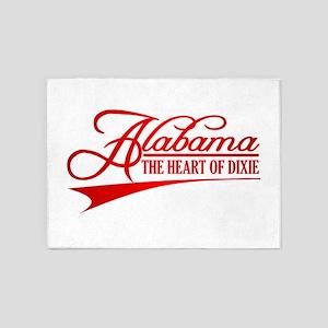 Alabama State of Mine 5'x7'Area Rug