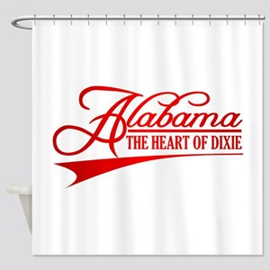 Alabama State of Mine Shower Curtain