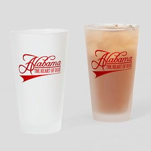Alabama State of Mine Drinking Glass
