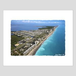 Jensen Beach Small Poster
