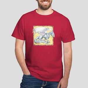 White Dragon Dark T-Shirt