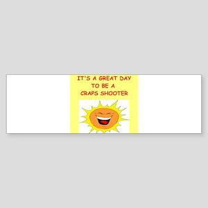 CRAPS.png Sticker (Bumper)