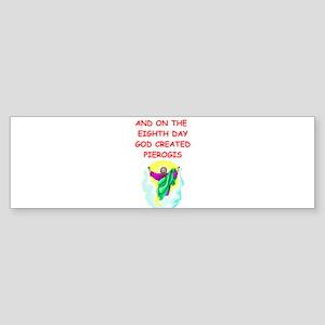PIEROGIS Sticker (Bumper)