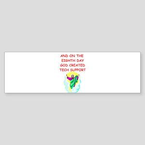TECHSUPPORT Sticker (Bumper)