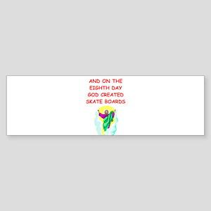 SKATEBOARD Sticker (Bumper)