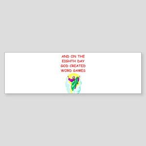 WORD Sticker (Bumper)