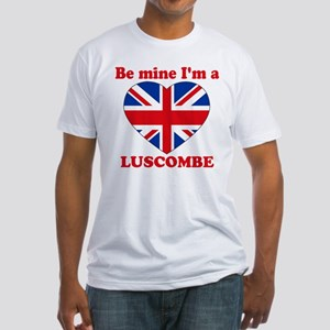 Luscombe, Valentine's Day Fitted T-Shirt