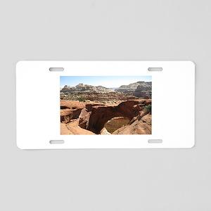 capitol reef Aluminum License Plate