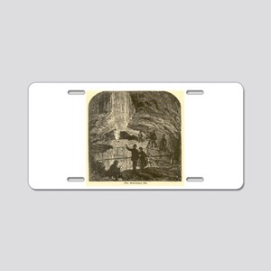 mammoth cave Aluminum License Plate