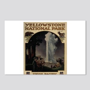 YELLOWSTONE5 Postcards (Package of 8)