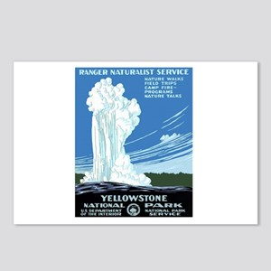 YELLOWSTONE7 Postcards (Package of 8)