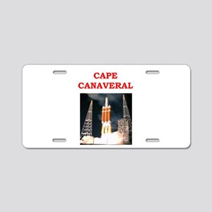 cape,canaveral Aluminum License Plate