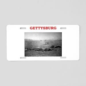 gettysburg Aluminum License Plate
