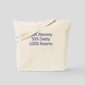 100% Roberto Tote Bag