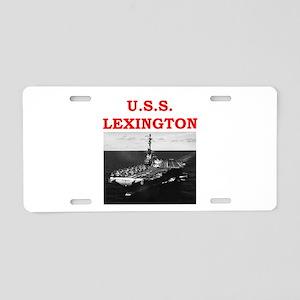 lexington Aluminum License Plate