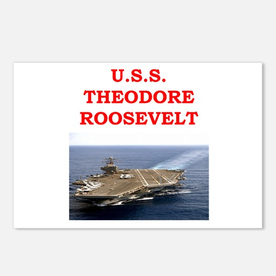 theodore roosevelt Postcards (Package of 8)