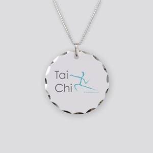 Tai Chi 1 Necklace Circle Charm