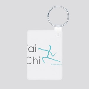 Tai Chi 1 Aluminum Photo Keychain
