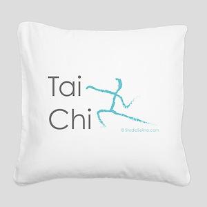 Tai Chi 1 Square Canvas Pillow