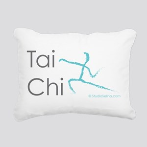 Tai Chi 1 Rectangular Canvas Pillow