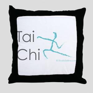Tai Chi 1 Throw Pillow