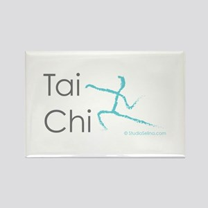 Tai Chi 1 Rectangle Magnet