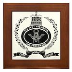 Your Masonic Pride Framed Tile
