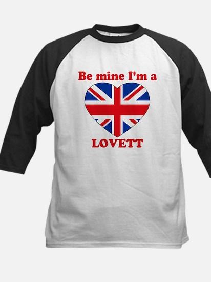 Lovett, Valentine's Day Kids Baseball Jersey
