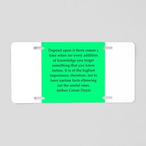 doyle3 Aluminum License Plate