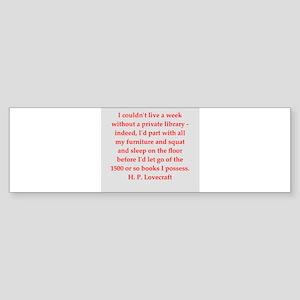 lovecraft5 Sticker (Bumper)