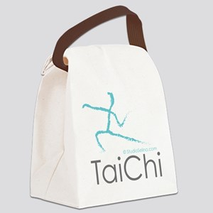 Tai Chi 2 Canvas Lunch Bag