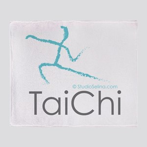 Tai Chi 2 Throw Blanket