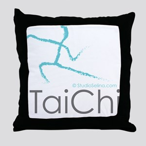 Tai Chi 2 Throw Pillow