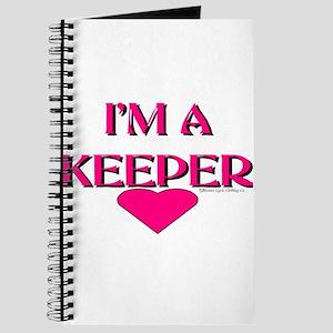 I'M A KEEPER Journal