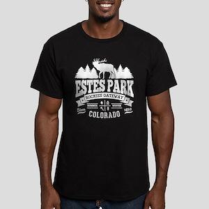 Estes Park Vintage Men's Fitted T-Shirt (dark)