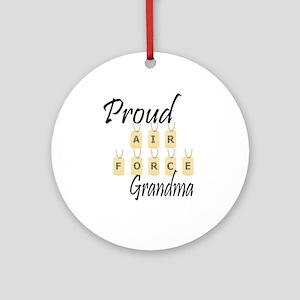 Camo AF Grandma Ornament (Round)