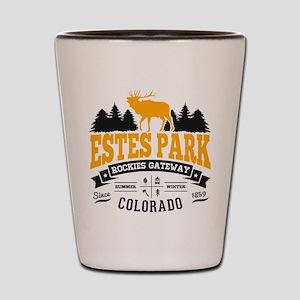 Estes Park Vintage Shot Glass