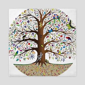 VLA Tree of Life Queen Duvet
