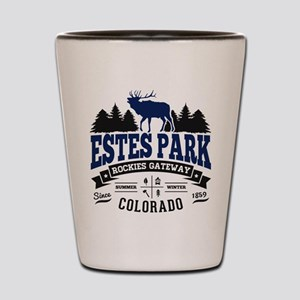 Estes Park Vintage Shot Glass