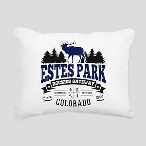 Estes Park Vintage Rectangular Canvas Pillow