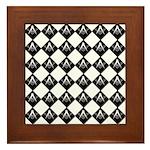 Masonic Tiles Framed Tile
