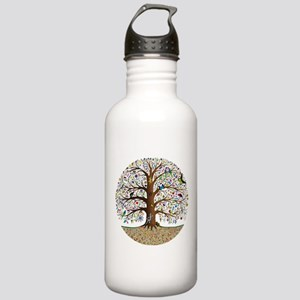 VLA Tree of Life Stainless Water Bottle 1.0L