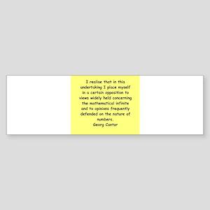 cantor4 Sticker (Bumper)