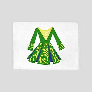 Celtic Dance Dress 5'x7'Area Rug