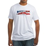 America-W Fitted T-Shirt