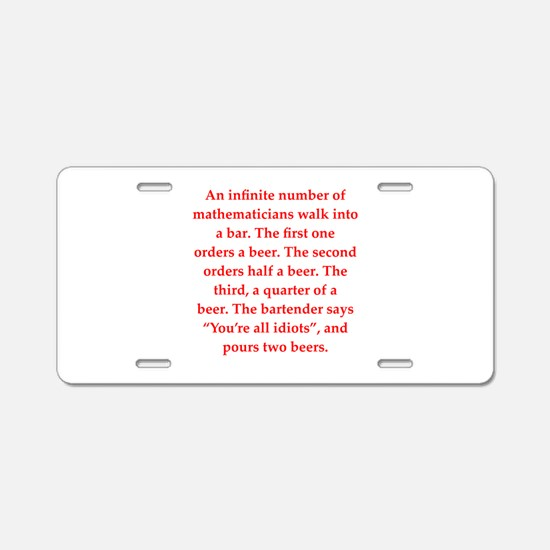 36.png Aluminum License Plate