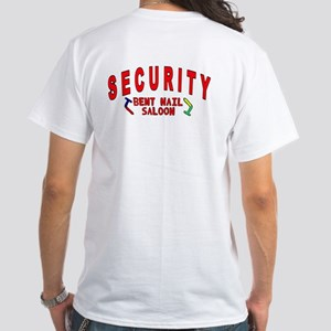 New roundhed Security White T-Shirt