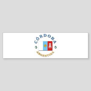 Cordoba Bumper Sticker